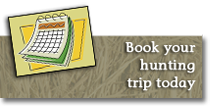 Book your hunting vacation today